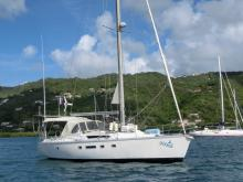 Voyage 12.50:  Martinique anchorage